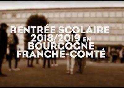 RENTREE SCOLAIRE Bourgogne Franche Comté