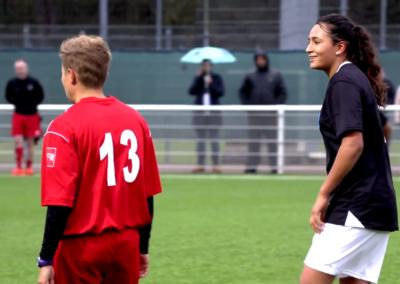 Rencontre de foot inédite